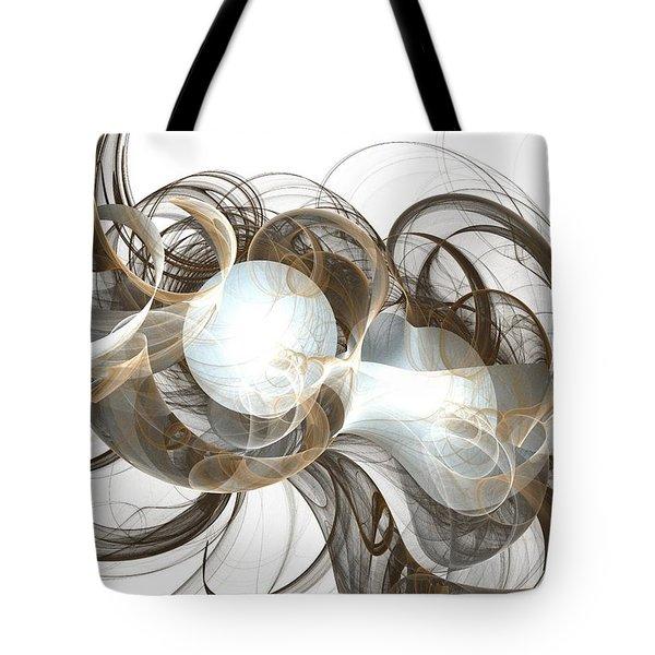 Central Core Tote Bag by Anastasiya Malakhova
