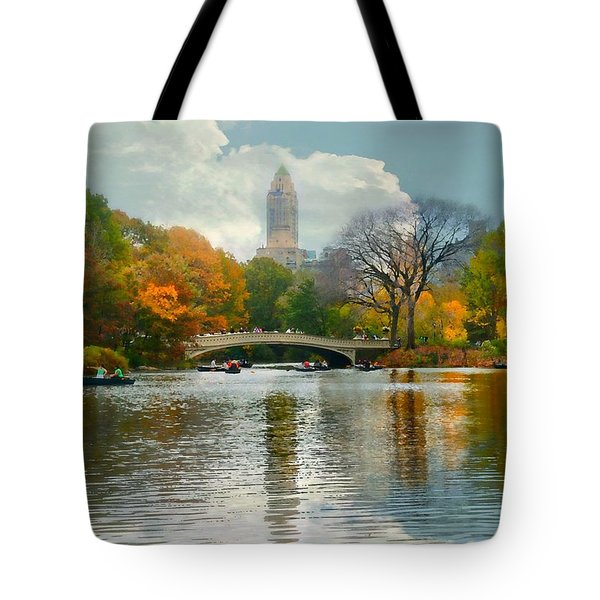 Central Park #6 Tote Bag by Diana Angstadt
