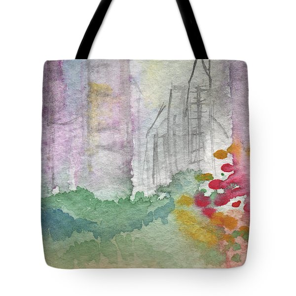 Central Park  Tote Bag by Linda Woods
