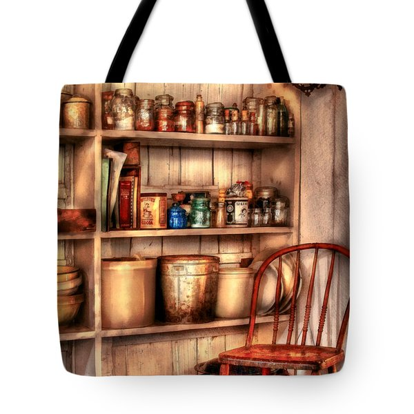 Chair - Chair in the Corner Tote Bag by Mike Savad