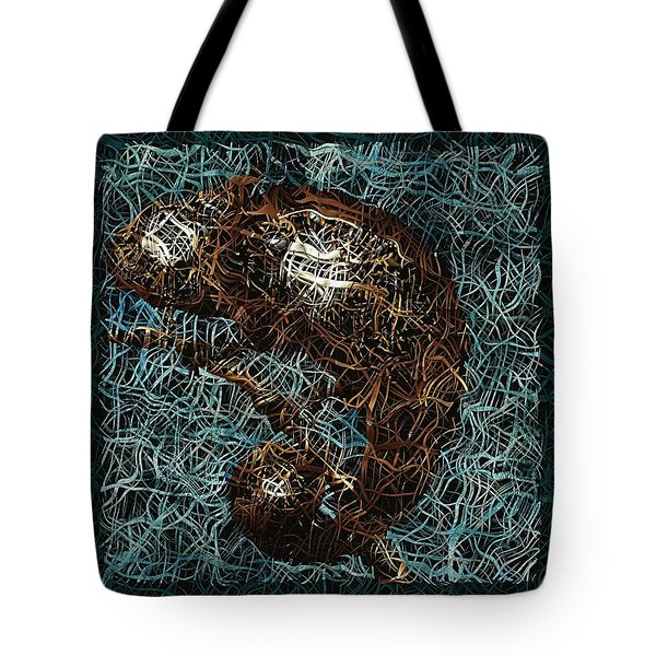 Chameleon - Fb0102b Tote Bag by Variance Collections