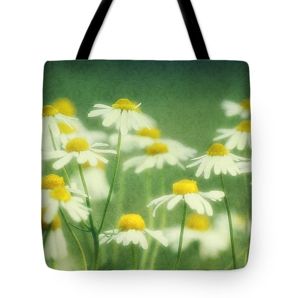 Chamomile Tote Bag by Claudia Moeckel