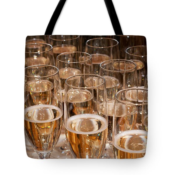 Champagne 02 Tote Bag by Rick Piper Photography