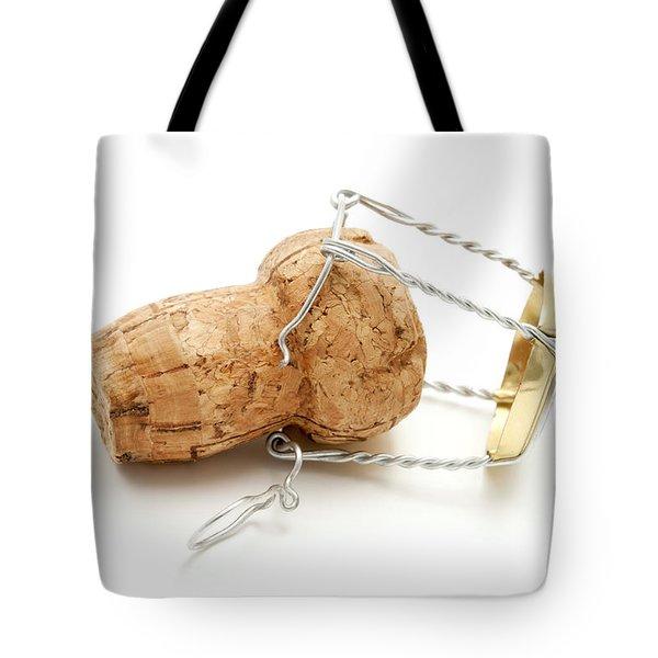 Champagne cork stopper Tote Bag by Fabrizio Troiani