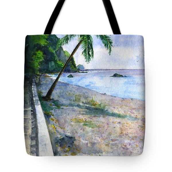 Champagne Snorkel Dominica Tote Bag by John D Benson