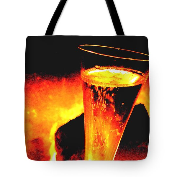 Champagne Wishes Tote Bag by Jerome Stumphauzer