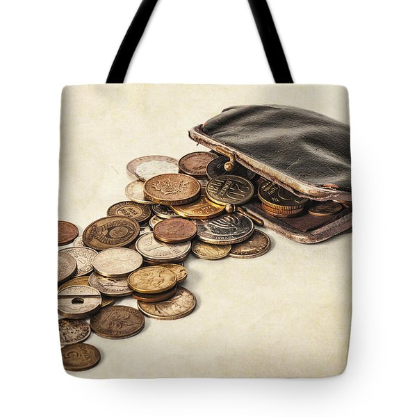 Change Tote Bag by Caitlyn  Grasso