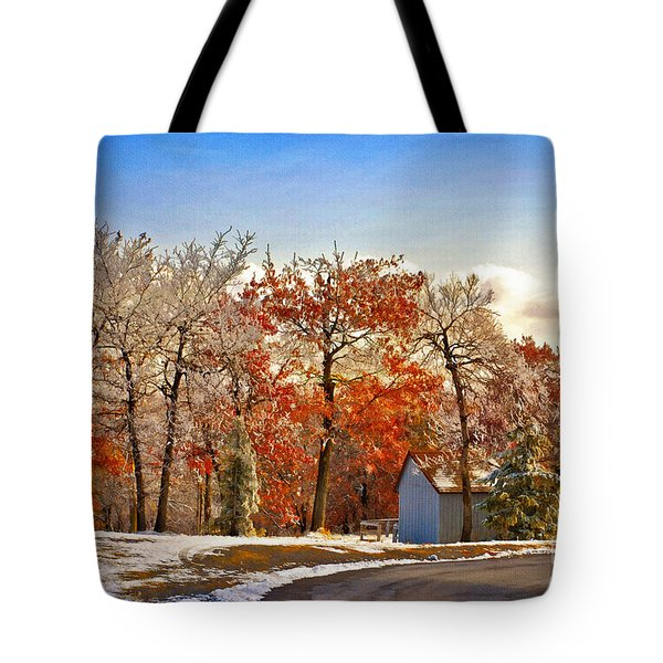 Change Of Seasons Tote Bag by Lois Bryan