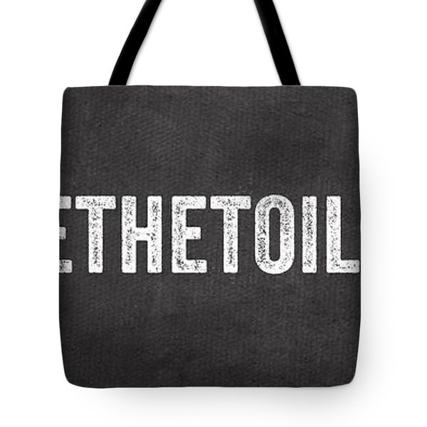 Change The Toilet Paper Tote Bag by Linda Woods