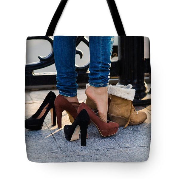 Changing The Seasons - Featured 3 Tote Bag by Alexander Senin