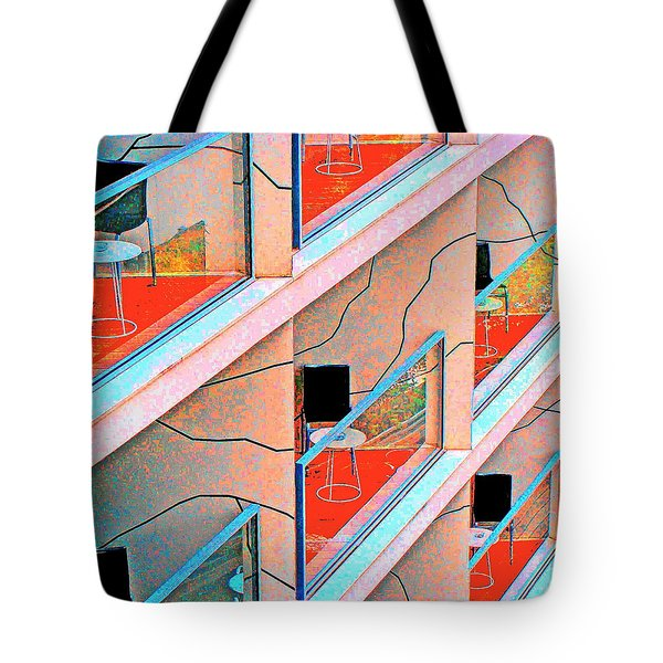 Channeling Mondrian  Tote Bag by Ira Shander