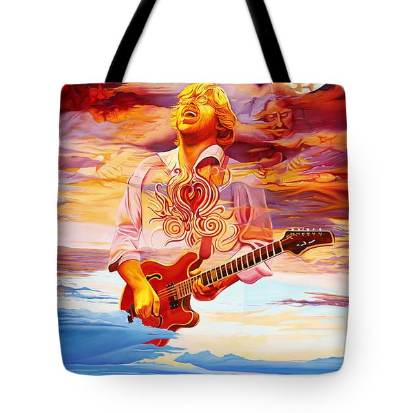 Channeling The Cosmic Goo At The Gorge Tote Bag by Joshua Morton