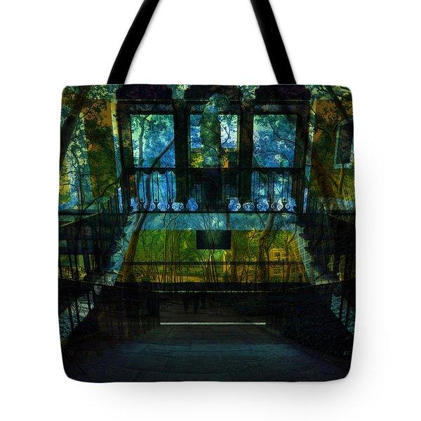 Chaos Tote Bag by Tina Baxter