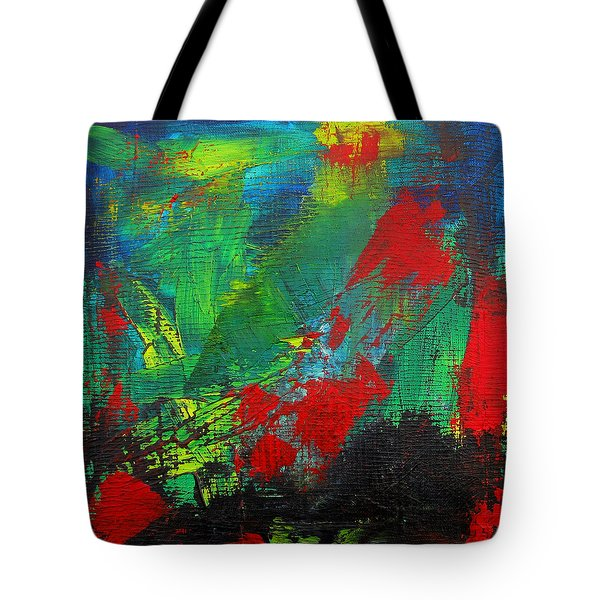 Chaotic Hope Tote Bag by Patricia Awapara