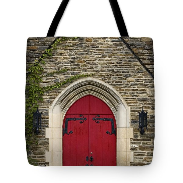 Chapel - D003211 Tote Bag by Daniel Dempster