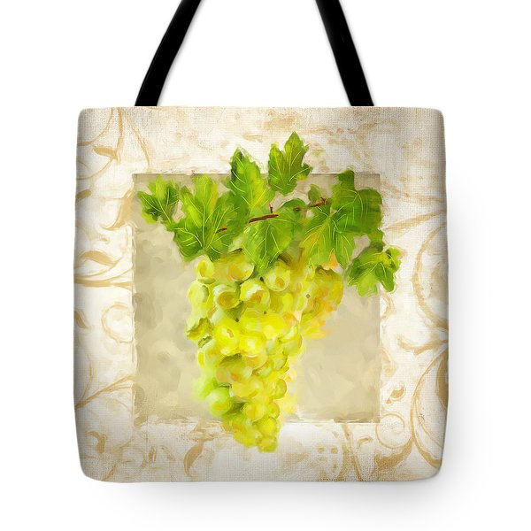 Chardonnay II Tote Bag by Lourry Legarde