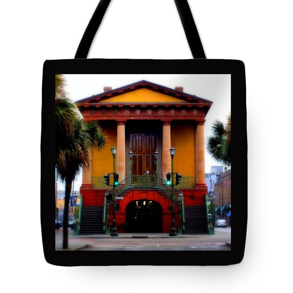 Charleston Tote Bag by Karen Wiles