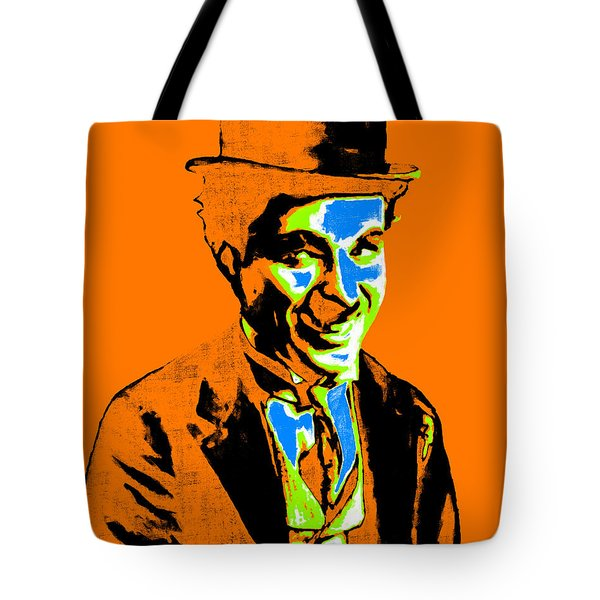 Charlie Chaplin 20130212p28 Tote Bag by Wingsdomain Art and Photography