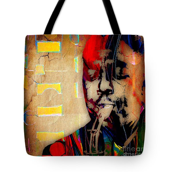 Charlie Parker Collection Tote Bag by Marvin Blaine