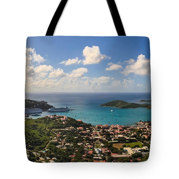 Charlotte Amalie St. Thomas Tote Bag by Keith Allen