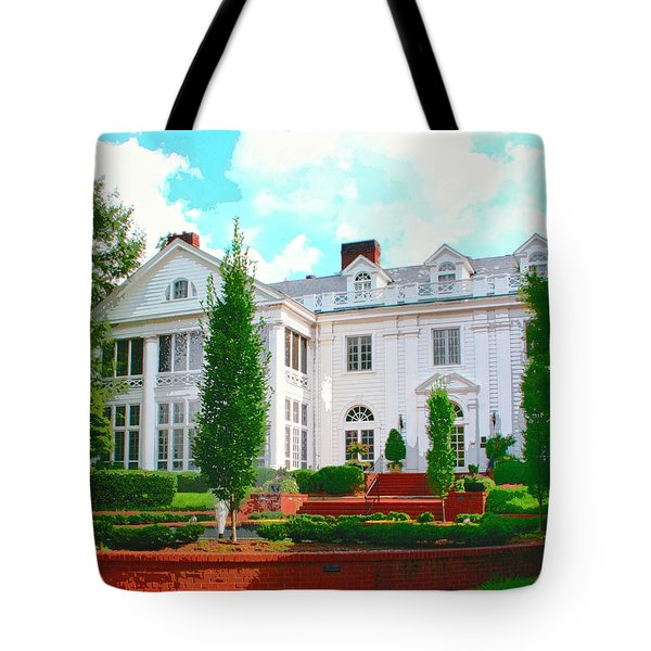 CHARLOTTE ESTATE Charlotte NC Tote Bag by William Dey