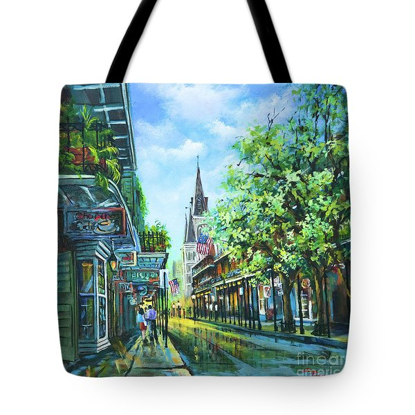 Chartres Afternoon Tote Bag by Dianne Parks