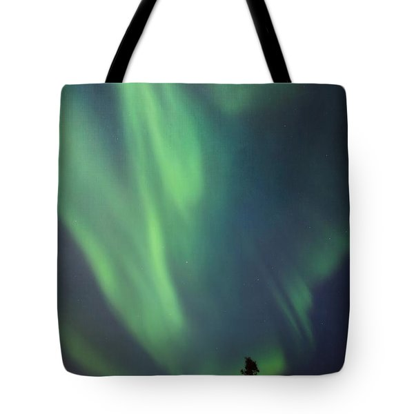 chasing lights II with textures Tote Bag by Priska Wettstein