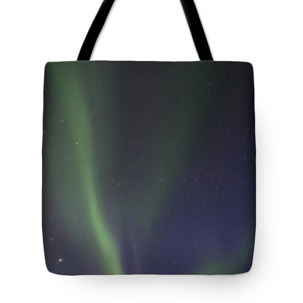 chasing lights Tote Bag by Priska Wettstein