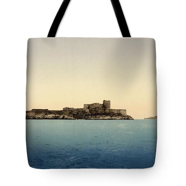 Chateau D'if Tote Bag by Nomad Art And  Design