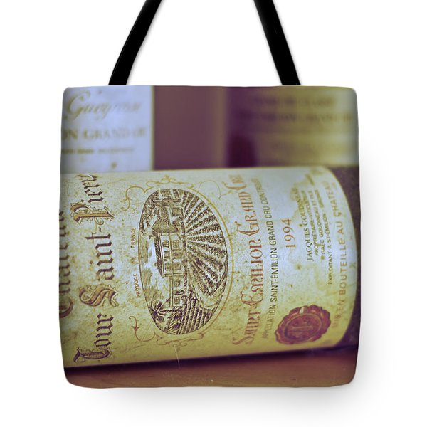 Chateau Tour Saint Pierre Tote Bag by Nomad Art And  Design