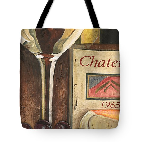 Chateux 1965 Tote Bag by Debbie DeWitt