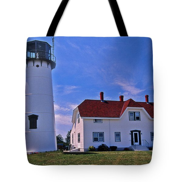 CHATHAM LIGHT Tote Bag by Skip Willits