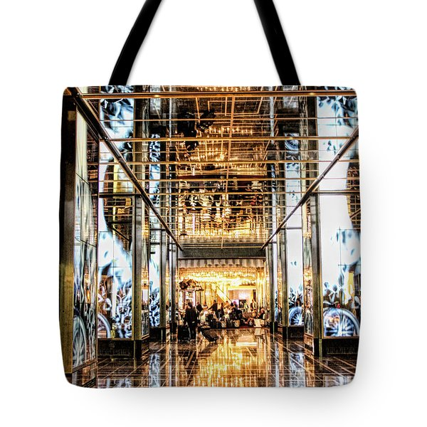 Check In Tote Bag by Tammy Espino