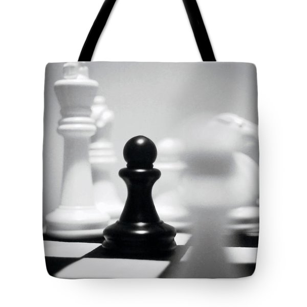 Check Tote Bag by Thomas Woolworth