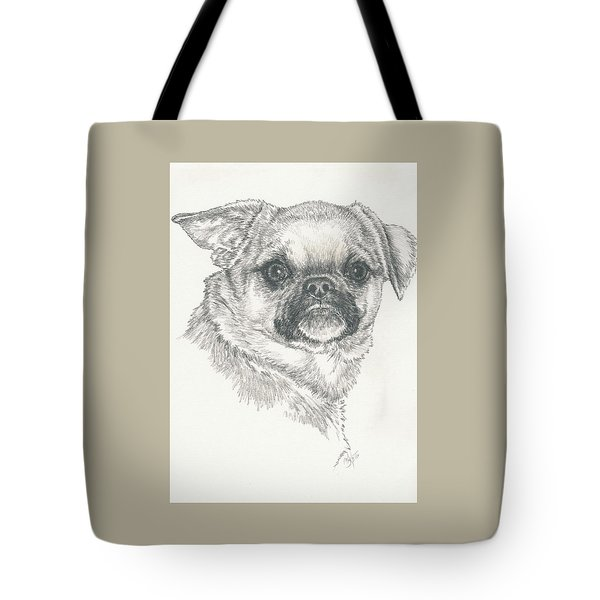 Cheeky Cheeks Tote Bag by Barbara Keith