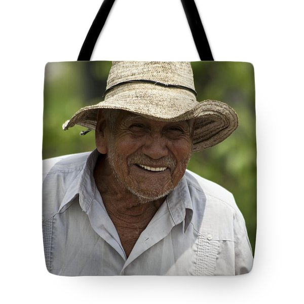 Cheerful Character Tote Bag by Heiko Koehrer-Wagner