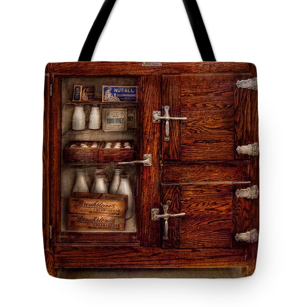 Chef - Fridge - The Ice Chest  Tote Bag by Mike Savad