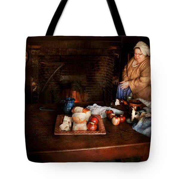 Chef - Kitchen - Today's menu  Tote Bag by Mike Savad