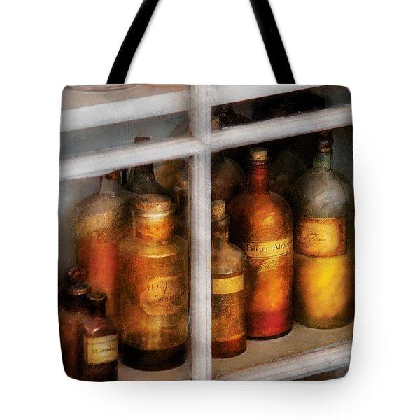 Chemist - Flavor Lab Tote Bag by Mike Savad