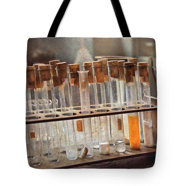 Chemist - Specimen Tote Bag by Mike Savad
