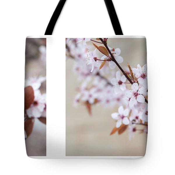 cherry blossom II Tote Bag by Hannes Cmarits