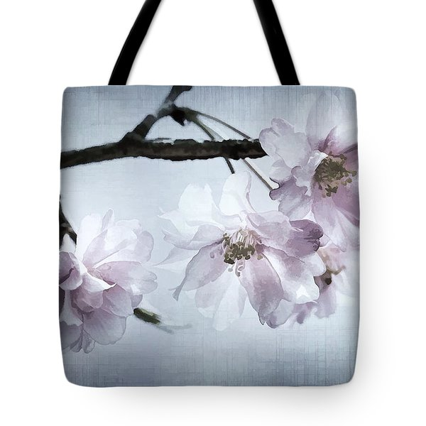 Cherry Blossom Sweetness Tote Bag by Kathy Clark