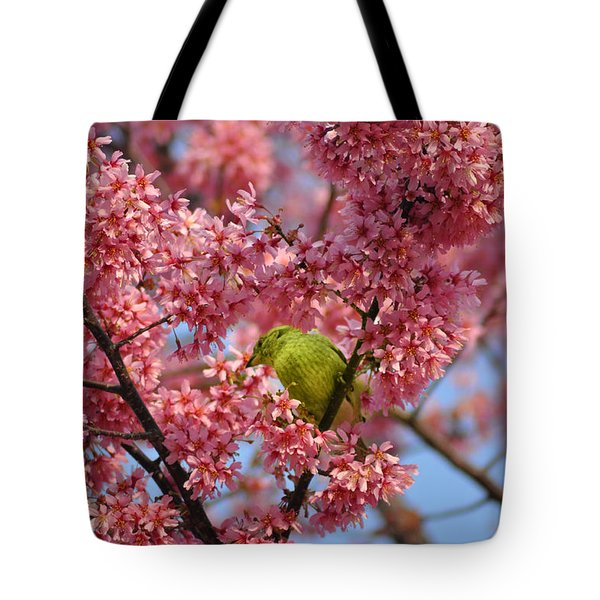 Cherry Blossom Time Tote Bag by Bill Cannon