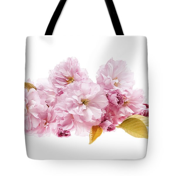 Cherry Blossoms Arrangement Tote Bag by Elena Elisseeva