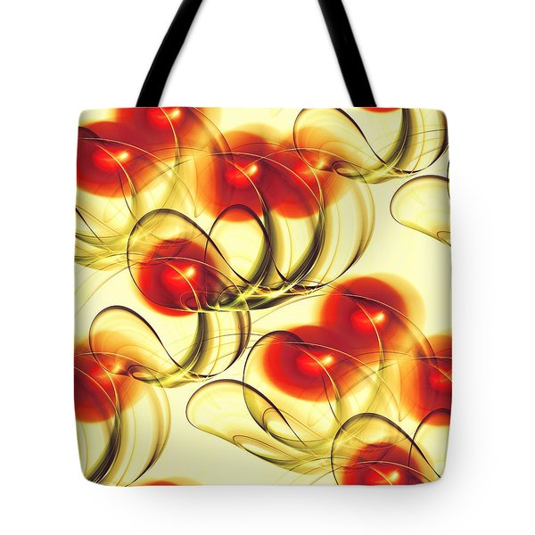 Cherry Jelly Tote Bag by Anastasiya Malakhova