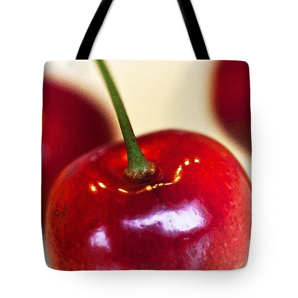 Cherry Still Life Tote Bag by Heiko Koehrer-Wagner