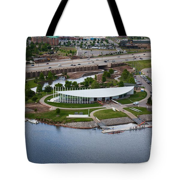 Chesapeake Boathouse  Tote Bag by Cooper Ross