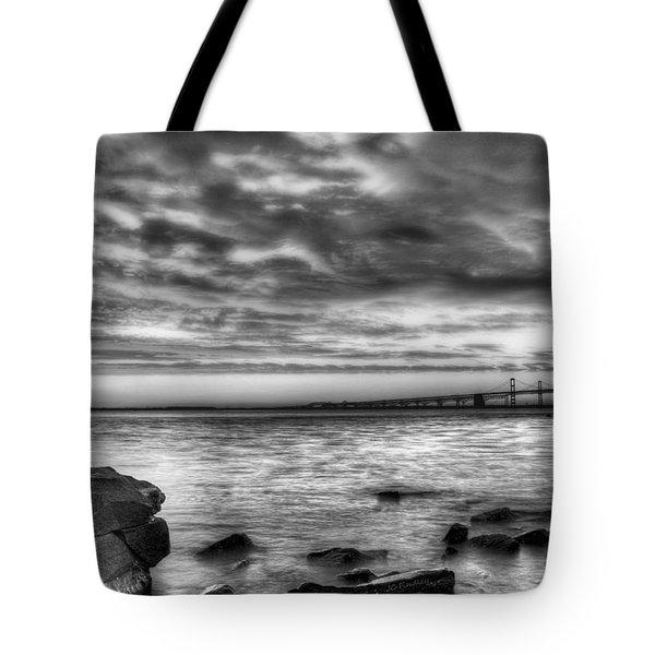 Chesapeake Splendor BW Tote Bag by JC Findley