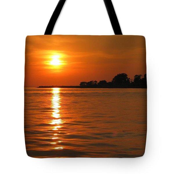 Chesapeake Sun Tote Bag by Photographic Arts And Design Studio