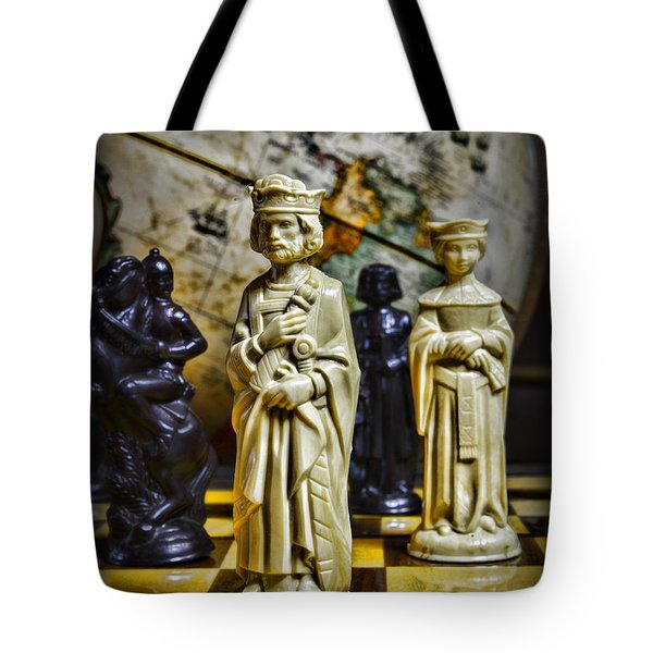 Chess - The Sacrifice Tote Bag by Paul Ward